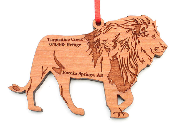 Turpentine Creek Lion Ornament