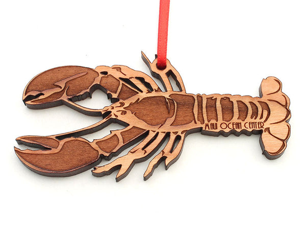Maui Ocean Center Lobster Ornament