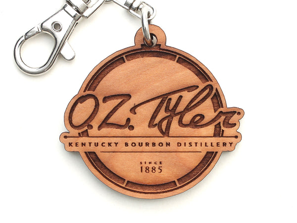 O.Z. Tyler Kentucky Bourbon Distillery Logo Key Chain