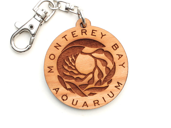 Monterey Bay Aquarium Logo Key Chain