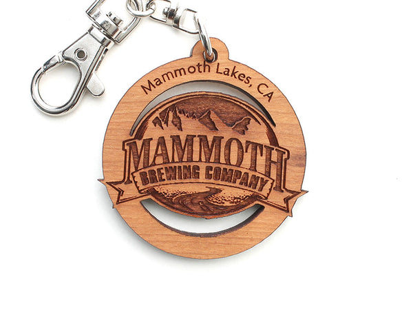 Mammoth Brewing Company Logo Key Chain