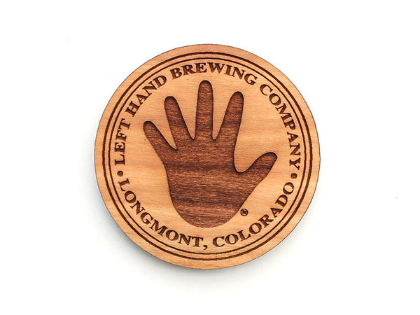 Left Hand Brewing Company Logo Magnet