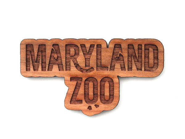 Maryland Zoo Logo Magnet