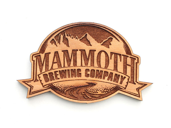 Mammoth Brewing Company Logo Magnet