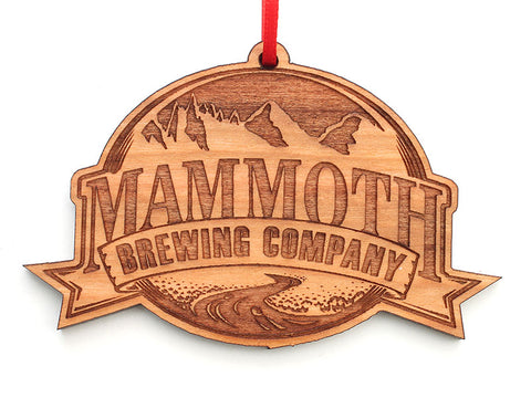 Mammoth Brewing Company Logo Ornament