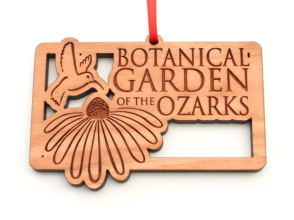 Botanical Garden of the Ozarks Logo Ornament
