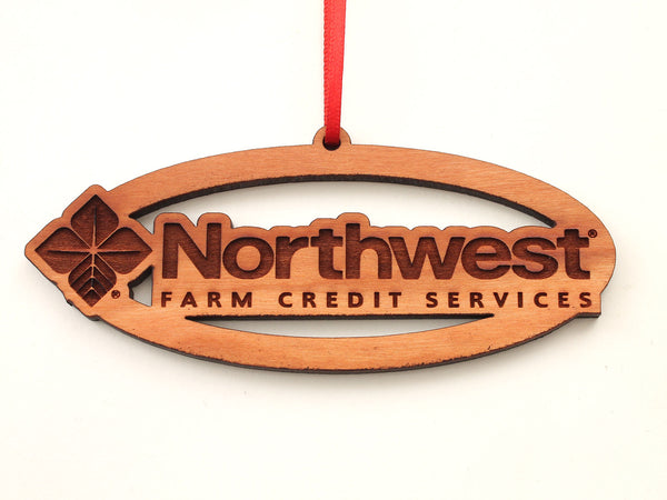 Northwest Farm Credit Services Logo Oval Ornament