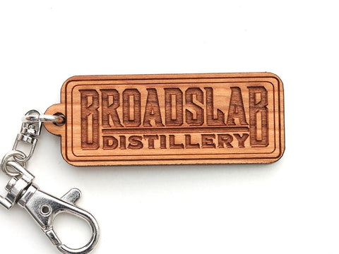 Broadslab Distillery Custom Logo Key Chain