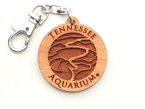 Tennessee Aquarium Logo Key Chain