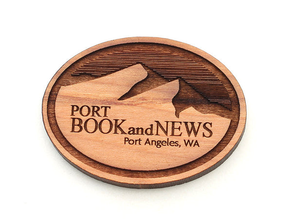Port Book and News Logo Magnet