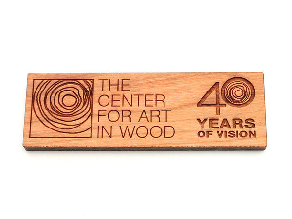 Center for Art in Wood Logo Magnet