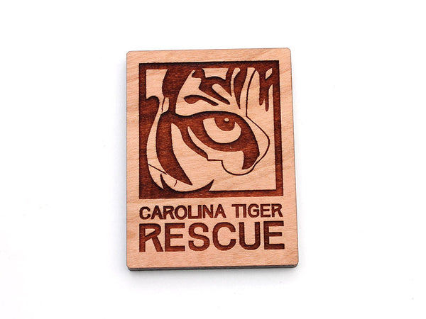 Carolina Tiger Rescue Logo Magnet