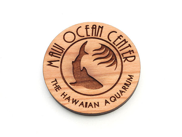 Maui Ocean Center Logo Magnet