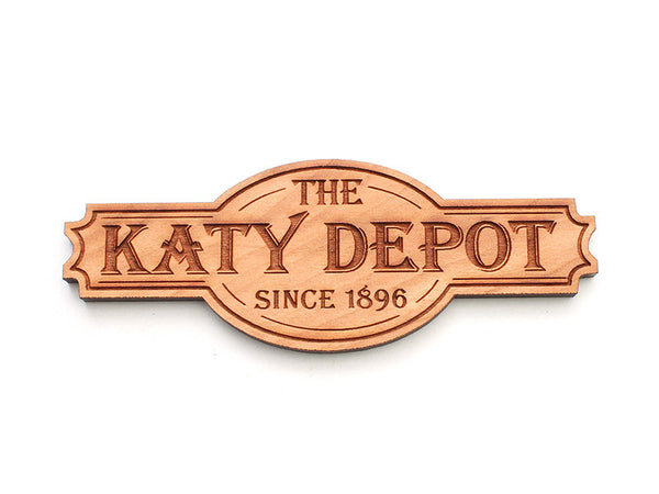 Katy Depot Custom Logo Magnet - Nestled Pines