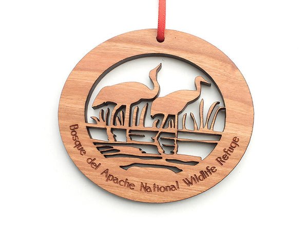 Bosque Logo Ornament - Nestled Pines