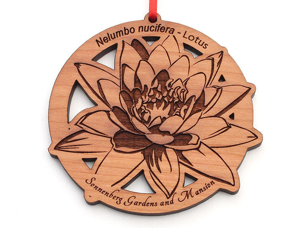 Sonnenberg Gardens and Mansion Lotus Circle Ornament