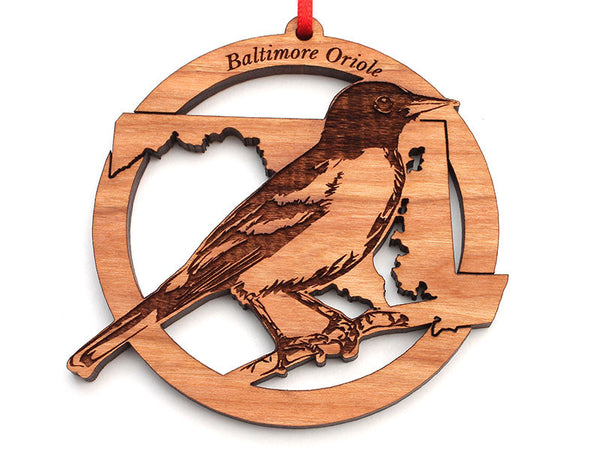 Maryland State Bird Ornament - Baltimore Oriole