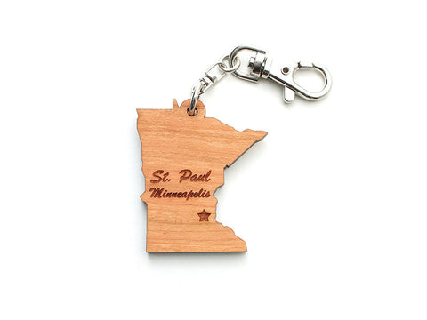 Minnesota State Key Clip ND - Nestled Pines