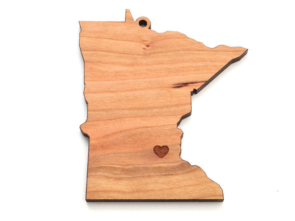 Minnesota State Ornament - Nestled Pines