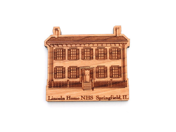 Lincoln Home Magnet - Nestled Pines