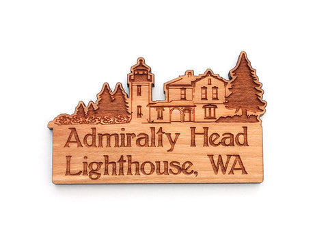 Admiralty Head Lighthouse Custom Magnet - Nestled Pines
