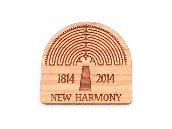 New Harmony Custom Logo Magnet