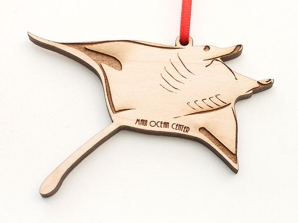 Maui Ocean Center Manta Ray B Ornament