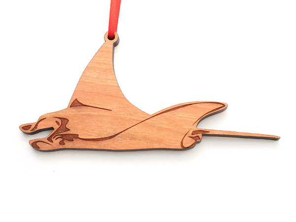 Manta Ray Ornament - Nestled Pines
