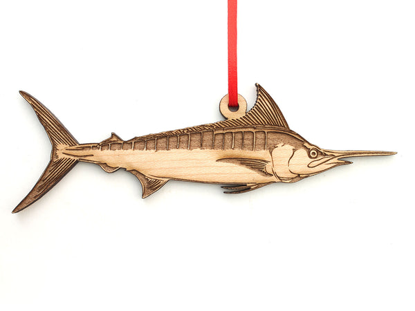Blue Marlin Ornament