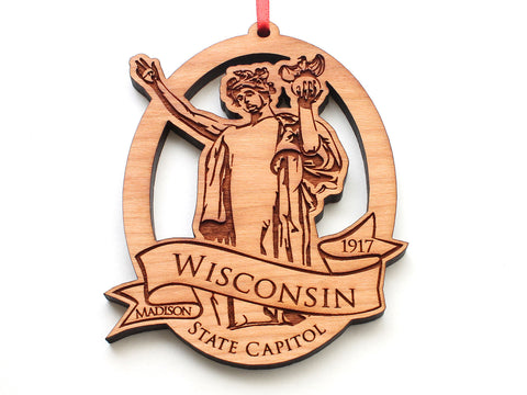 Miss Wisconsin State Capitol Ornament