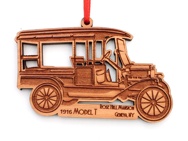 Finger Lakes Model T Ornament - Nestled Pines
