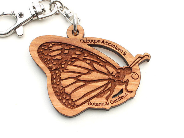 Dubuque Arboretum Monarch Butterfly Key Chain