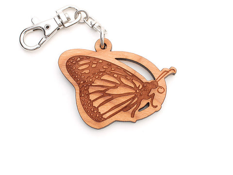 Monarch Butterfly Key Chain - Nestled Pines
