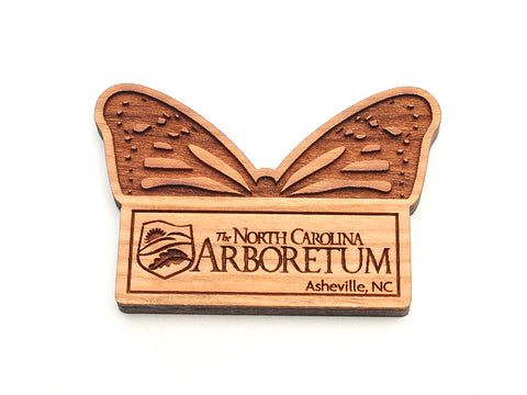 North Carolina Arboretum Monarch Logo Custom Magnet