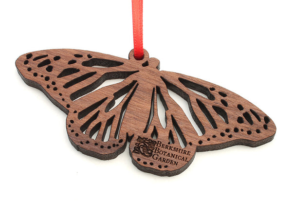 Berkshire Botanical Garden Walnut Monarch Butterfly Ornament