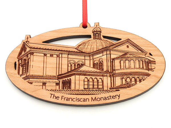 Franciscan Monastery Oval Ornament