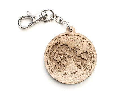 Moon Key Chain - Nestled Pines