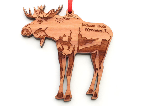 Wyoming Outfitters Moose Ornament