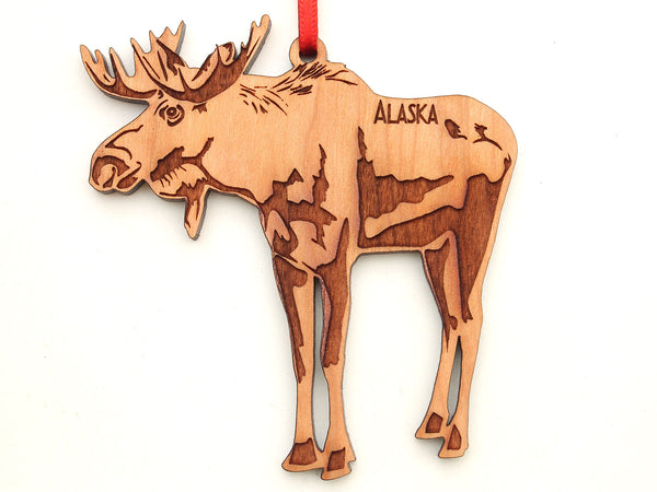 Alaska Moose Ornament