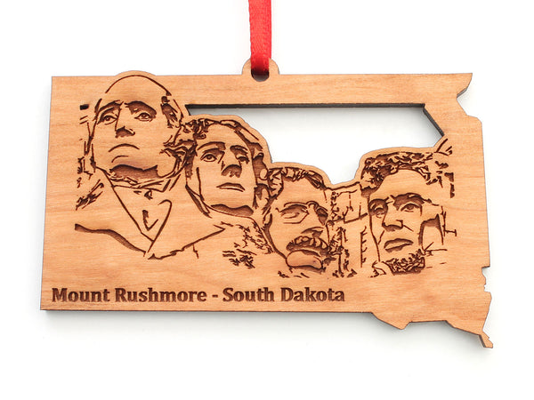 Mount Rushmore South Dakota State Insert Ornament