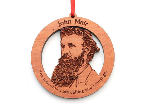 John Muir Ornament Alt Quote - Nestled Pines