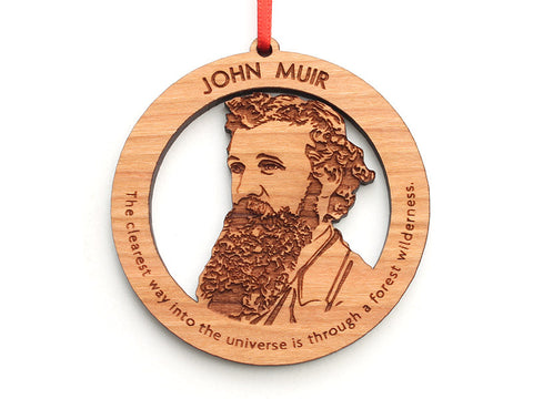 John Muir Ornament - Nestled Pines