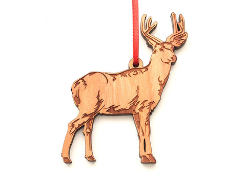 Mule Deer Ornament