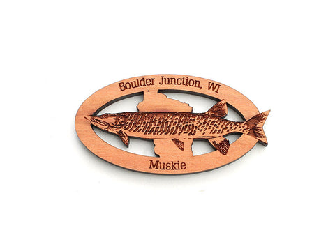 Blueberry Patch Muskie Magnet - Nestled Pines