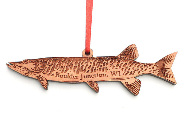 Blueberry Patch Muskie Ornament - Nestled Pines