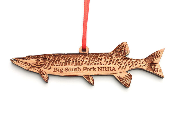 Big South Fork Muskie Ornament - Nestled Pines