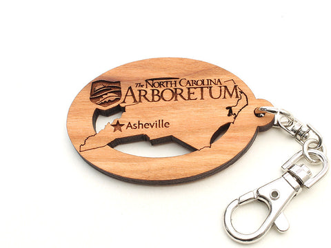 North Carolina Arboretum North Carolina State Key Chain