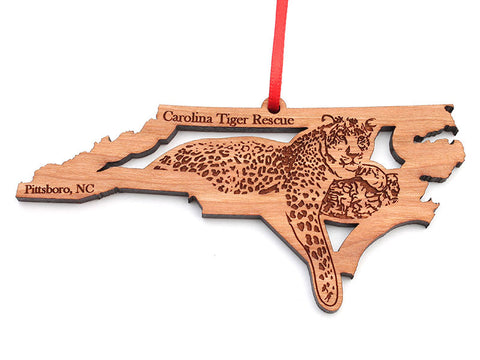 Carolina Tiger Rescue North Carolina Leopard Insert Ornament