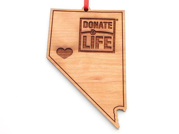 Nevada Donate Life Ornament ALT