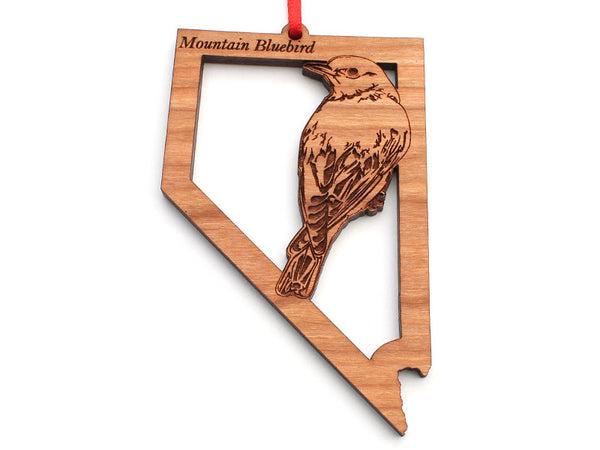Nevada State Bird Ornament - Mountain Bluebird